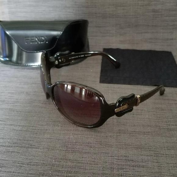 3d5cb7e27ad8 FENDI Brown Women s Sunglasses 🕶